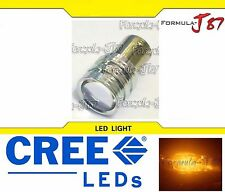 CREE LED Miniature 5W 1156 BAU15S Amber Orange One Bulb Replacement Light JDM