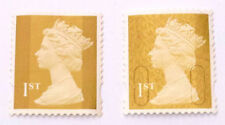 60 UNFRANKED FIRST CLASS GOLD STAMPS OFF PAPER. FACE VALUE £37.80p