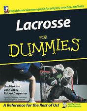 Lacrosse for Dummies New Book