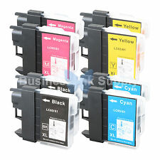 8 PK LC61 Ink for Brother MFC-J630W MFC-J615W MFC-J415W MFC-J410W MFC-J270W