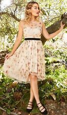 NWT LAUREN CONRAD Disney Snow White Collection Tulle Fit & Flare Dress sz 16