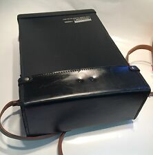 LEATHER CARRY CASE FOR SCHLUMBERGER 7150 & SIMILAR SIZE TEST INSTRUMENTS