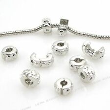 Free Ship 25 Stopper Clip Bead Fit Charm Bracelet 150130
