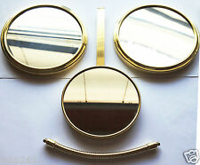 3x Magnified Portable Mirror Set - Hair & Make-up - Beautician - NEW OLD STOCK!