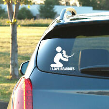 I LOVE BEARDIES - Vinyl Decal - Bearded Dragon, Dubia, Cricket, Reptile Food