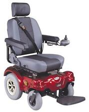 New C.T.M. HS-5600 Heavy Duty Rear Wheel Drive Electric Power Chair Red