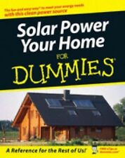 Solar Power Your Home for Dummies by Rik DeGunther (2007, Paperback)