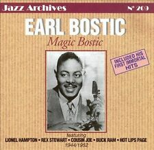 CD NEUF scellé - EARL BOSTIC - MAGIC BOSTIC 1944/1952 -C46