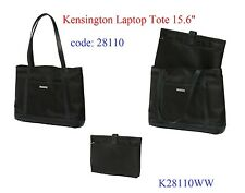 """GENUINE Kensington Women's Laptop Tote 15.6"""" with Removable Sleeve,Multi Pockets"""