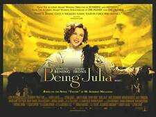 BEING JULIA movie poster (UK Quad)  ANNETTE BENING poster, JEREMY IRONS poster