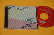 CD (NO LP ) AEROSMITH LIVE BOOTLEG ORIG CON LIBRETTO EX