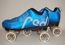 Labeda Red Voodoo U3 Quad Speed Roller Skates Derby Men's Sz 12M (Color: Blue)