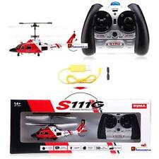 2 X Helicoptero RC Dolphin 3ch Indor Syma (2XSYMS111G)