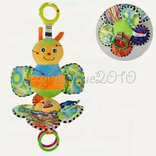 Bee Plush Wind-up Toy Clockwork Music Infant Baby Buggy Crib Cradle Ornament New