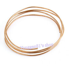 1.5M Length Diameter 2mm Copper Tone Refrigeration Capillary Pipe Tubing Coil