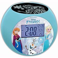 Reloj Despertador Proyector de Frozen de Disney Nuevo por Lexibook