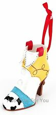 NEW Disney Parks Toy Story Jessie Resin Boot Shoe Heel Christmas Ornament