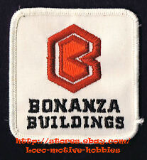 LMH PATCH Badge  BONANZA BUILDINGS  Uni-Frame Commercial Industrial Materials
