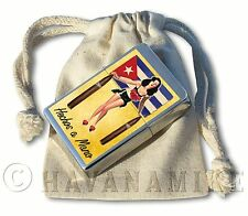 New in Bag KISS PINUP GIRL Cuban Flag Havana Cuba Ronson Cigar Lighter