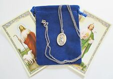 Set of Two St. Jude Saint Medals with 24 Inch Necklaces
