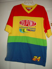 .Dupont Automotive Finishes Racing 24 Jeff Gordon Size Med T-Shirt Chase Authent