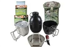 BCB CN004SM CRUSADER COOKING SYSTEM SILVER 8 PIECE SET MULTICAM POUCH