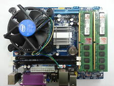 INTEL G31/945  MOTHERBOARD,C2D 2.66 or higher CPU,2GB DDR2 KIT,CPU FAN,*