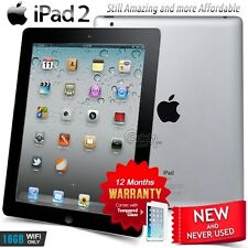 New in Sealed Box APPLE iPad 2 II A5 CPU 16GB Black PC Tablet (Wifi Only)