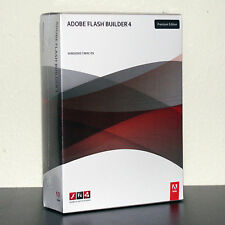 Adobe Flash Builder 4 for Windows or Mac Brand New Sealed Retail Box 65069688