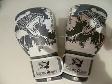 SUBLIME REALITY Genuine cowhide leather boxing, kickboxing Muay thai gloves