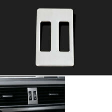 1x Middle Center Air Vent Outlet Cover Trim Stainless For Audi A4 B8 A5 2013-15