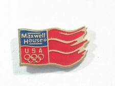 Old Maxwell House Coffee Olympic pin
