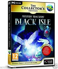 Mystery Trackers: Black Isle Collector's Edition (PC DVD) Hidden Object Game NEW