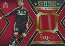 2015 PANINI SELECT SOCCER SERGIO RAMOS 20/49 JERSEY RELIC SPAIN PLAYER WORN