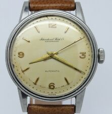 VINTAGE International IWC Schaffhausen 35mm Steel Mens Automatic Watch c.852
