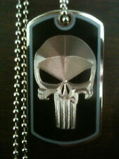 THE PUNISHER DOG TAG NECKLACE