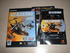 DCS: BLACK SHARK HELICOPTER FLIGHT SIMULATOR ~ PC GAME PC DVD-ROM