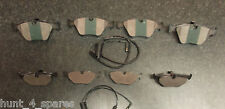BMW E39 5 SERIES 520 523 525 FRONT & REAR BRAKE PADS WITH WEAR LEAD SENSORS