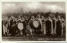 algeria, Scenes et Types, Arab Music Band (1937) RPPC
