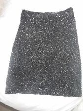 Stunning  All Saints Elise Sequin Skirt Size 8 Excellent Condition