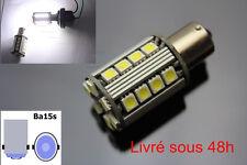 2 Ampoules LED  BA15S / P21W Canbus Anti Erreur - Blanc Feux de jour/ recul