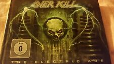 overkill-cd+dvd the electric age digibook 2012 vg++ exodus/testament/death angel