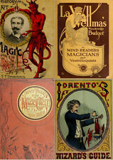 70 RARE,OLD & ANTIQUE BOOKS ON MAGIC, TRICKS, ILLUSIONS & CONJURING HISTORY_LQQK