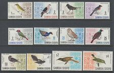 Samoa 1967 ** Mi.152/61, 199/00 kpl. Vögel Birds Freimarken Definitives [sq6160]