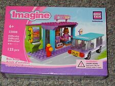 Bus Stop BricTek Imagine Building Block Construction Toy Brick Girl Bric Tek