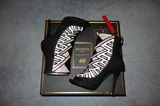 Balmain x H&M Beaded Suede Pumps Sandals size 5.5