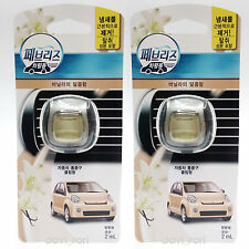 Febreze New Car Scent Vent Clips Air Freshener Sweetness Of Vanilla 2 Pack