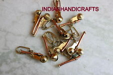 Rescue Brass Firefighter Keyring Emergency tool ~Whistle 150 pcs