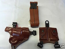Galco Miami Classic Shoulder Holster, RH Tan S&W J frames # MC160