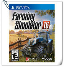 PSV Sony PlayStation VITA Games Farming Simulator 16 Maximum Games Simulation